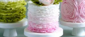 Свадебный торт 2016, новые тренды.