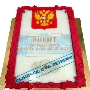 Торт Паспорт №2