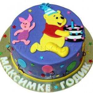 Торт Винни-Пух и Пятачок