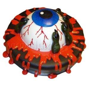 Торт Глаз на Хеллоуин