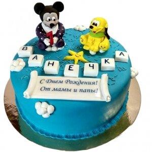 Торт Микки Маус и Плуто