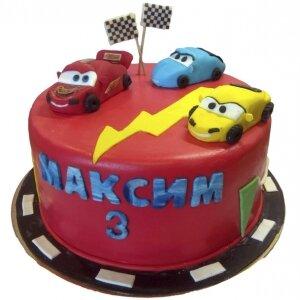 Торт Тачки Маквин №2