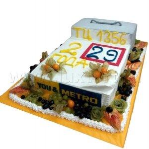 Торт Календарь METRO