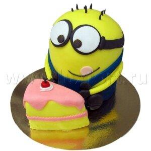 Торт Миньон с пирожным (Гадкий Я)№3