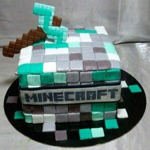 Торт Майнкрафт 6
