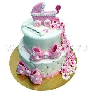 Торт с Новорожденной