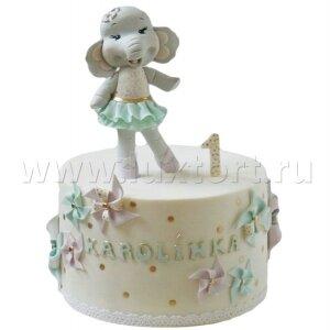 Торт девочка Слоненок