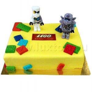 Торт Лего Ниндзя Го Зейн