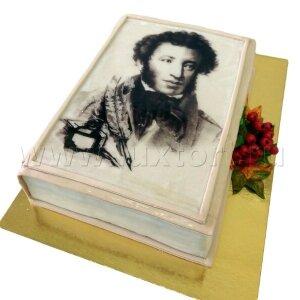 Торт Книга А.С.Пушкин