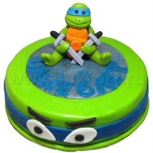Торт Черепашка Ниндзя Леонардо