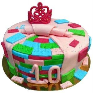 Торт Лего для Принцессы