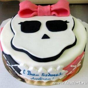 Торт Монстер Хай №3