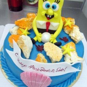 Торт Спанч Боб 3