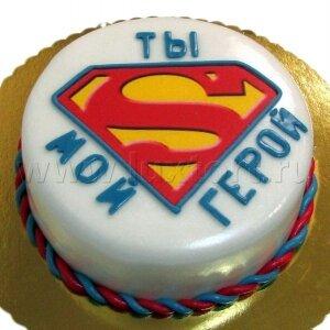 Торт Супермену