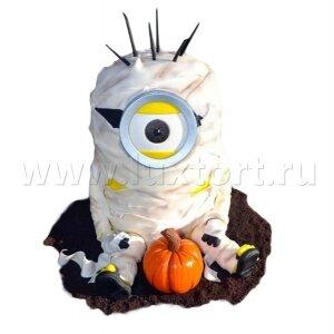 Торт Миньон на Хеллоуин