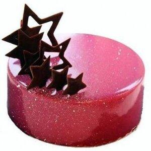 Зеркальный торт с Звездами