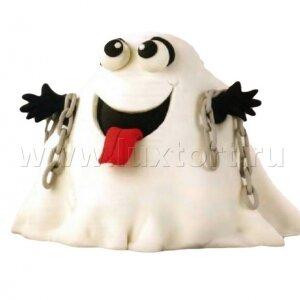 Торт Приведение на Хеллоуин