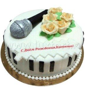 Торт Микрофон
