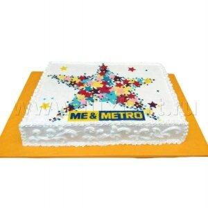 Торт Звезда METRO