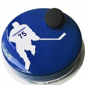 Зеркальный торт Хоккей