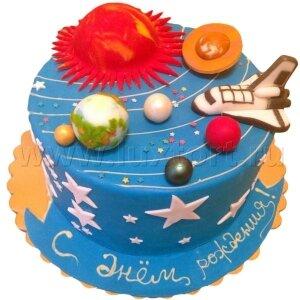 Торт Солнечная система №2