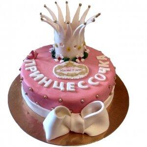 Торт Корона Принцессы №2