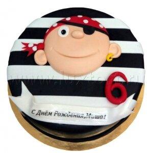 Торт Пират №2