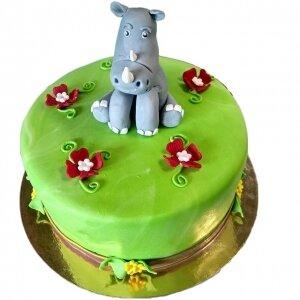 Торт Носорог