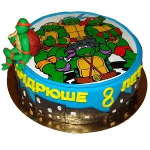 Торт Черепашки Ниндзя №2