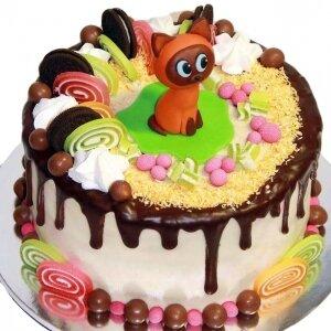 Торт котенок Гав