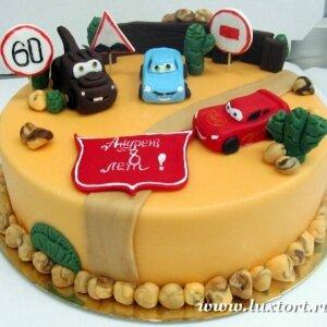 Торт Тачки 2