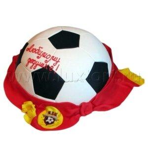 Торт Футбольный мяч Арсенал