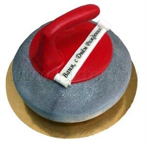 Торт Камень для Керлинга
