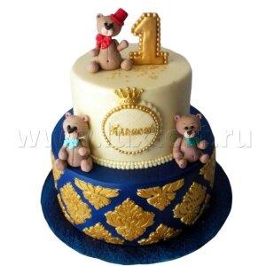 Торт с Мишками на Один годик