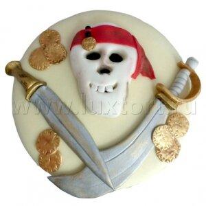 Торт Пиратский Череп и мечи