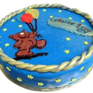 Торт Мишка с шариками