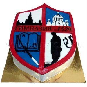 Торт Логотип Гимназии