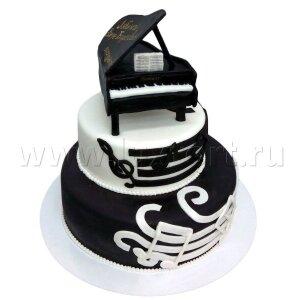 Торт с фигуркой Черного Рояля