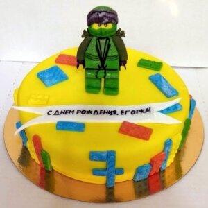 Торт Лего Ниндзя Го Ллойд №2