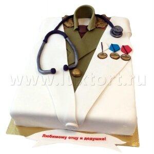 Торт Военному Врачу