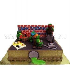 Торт Черепашки Ниндзя 5