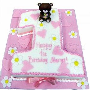 Торт Один годик №9