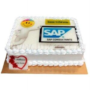 Торт Корпоративный SAP/ВИКТОРИЯ