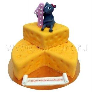 Торт Мышонок с сыром №2