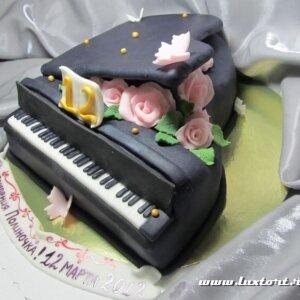 Торт Черный рояль