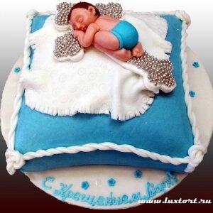 Торт Крестины