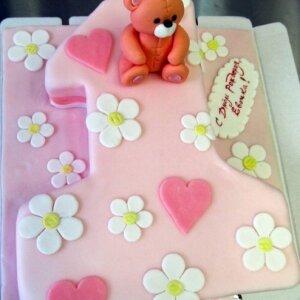 Торт Один годик №3