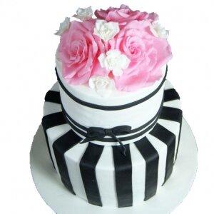 Торт в стиле Шанель