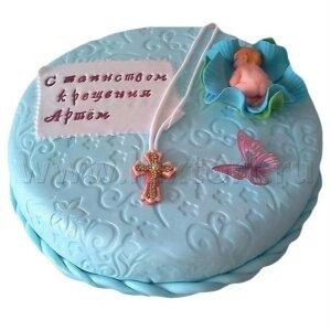 Торт на Крестины №3