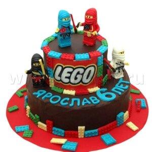 Торт Лего Ниндзя го №2